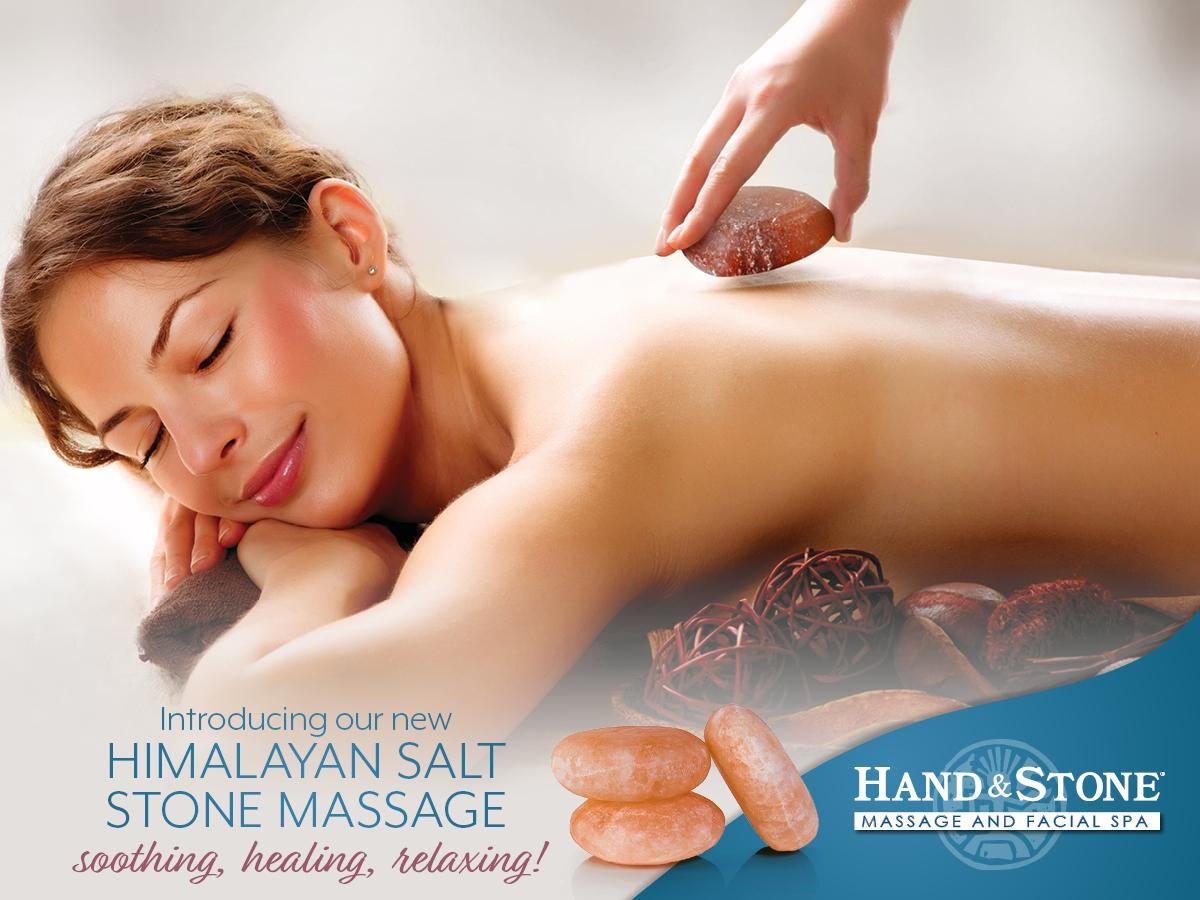 Himalayan Salt Stone Massage is here!