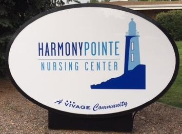 Speedprodenver.net provides new outdoor sign for Vivage?s Harmony Pointe Nursing Center