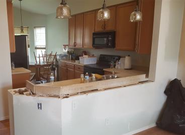 Kitchen wall removed - Westminster, CO
