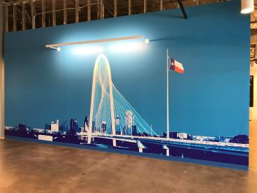 Dallas Skyline Wall Decal