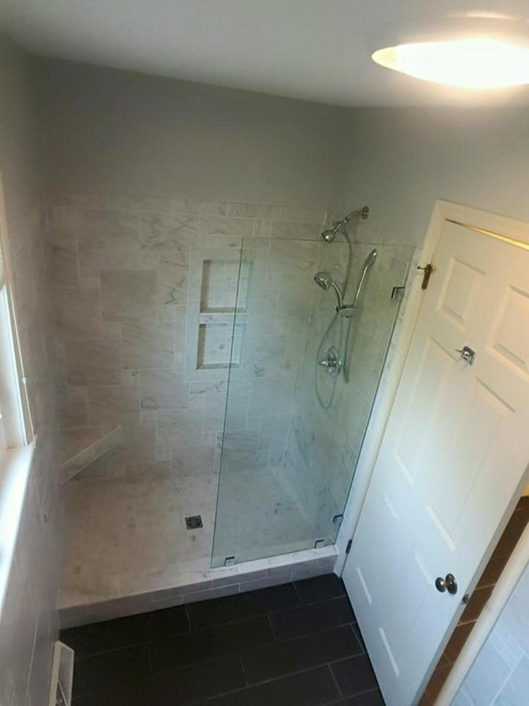 Tub to Custom Tile Shower Conversion - Hummelstown