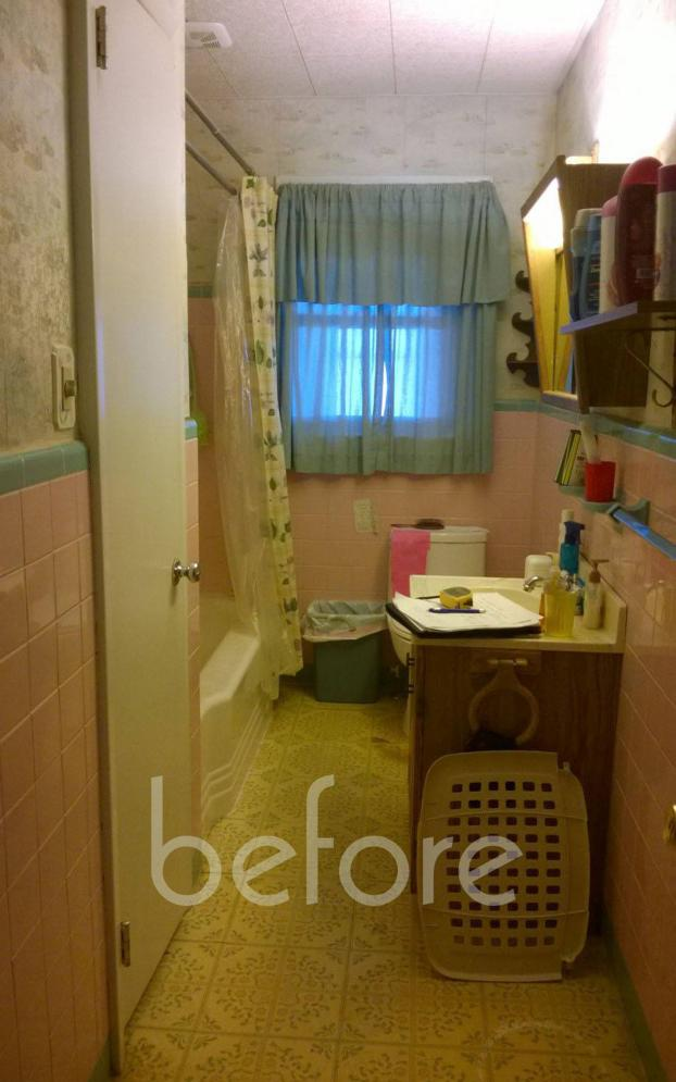 Hummelstown Bath Remodel - Before