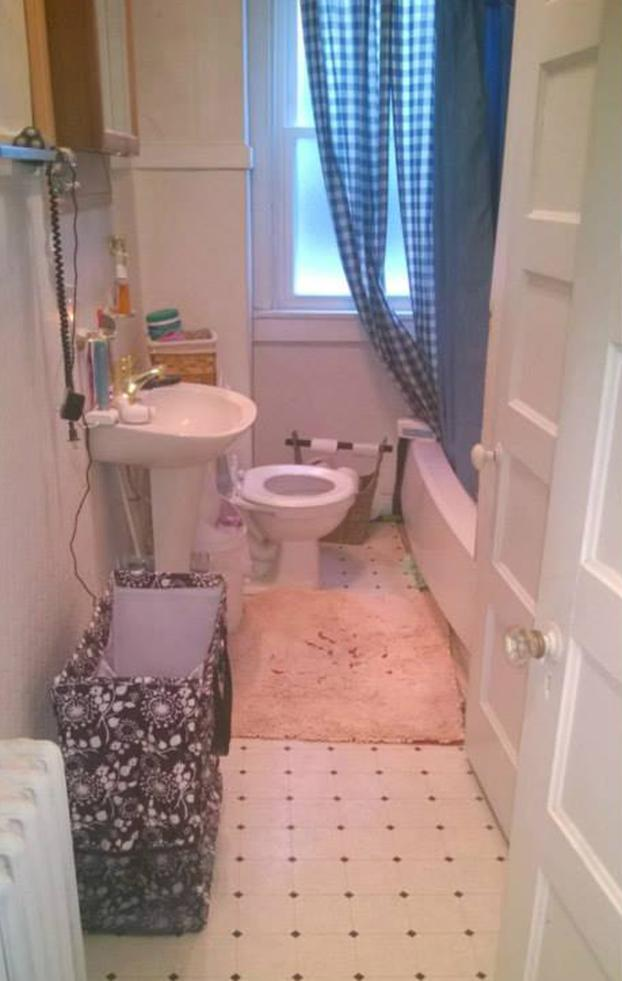 Bathroom Remodel Harrisburg - Before