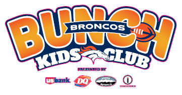 broncos kids club sign