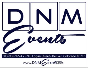 dnm events promo signage