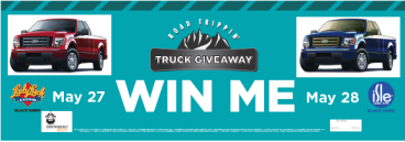 lucky lady isle truck giveaway banner