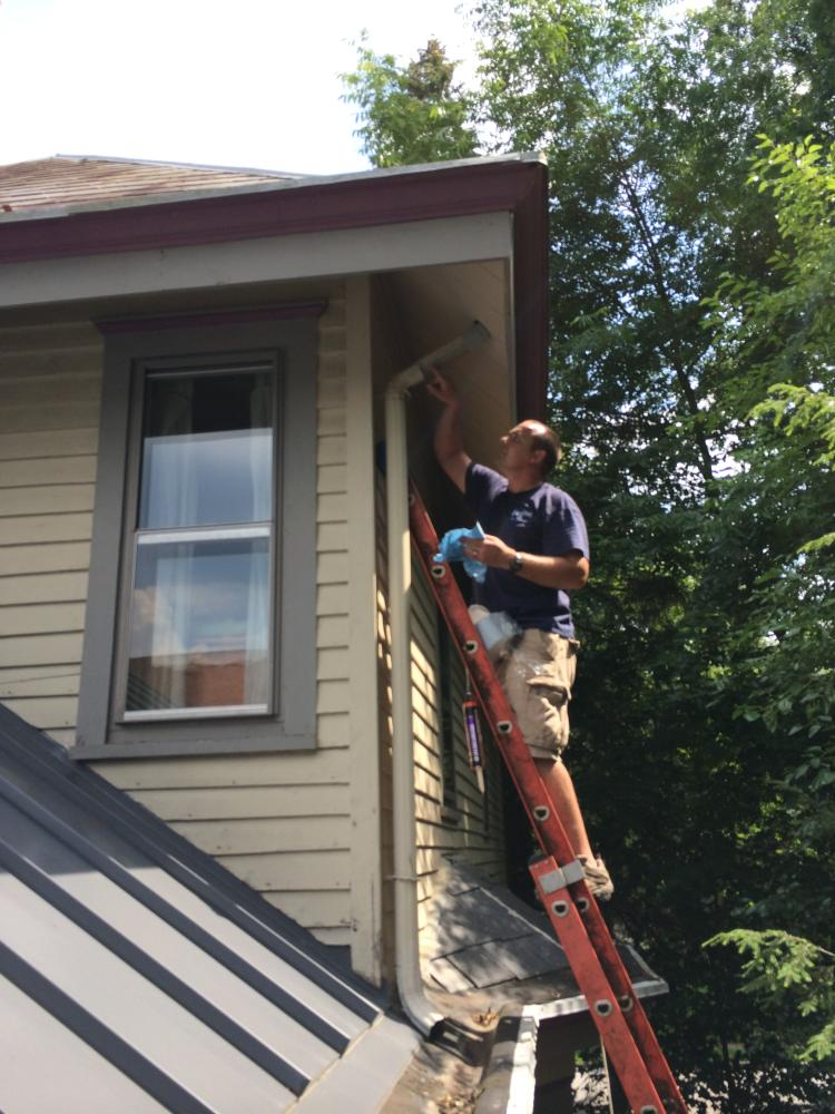 Trim and Gutter Repair in Westerville