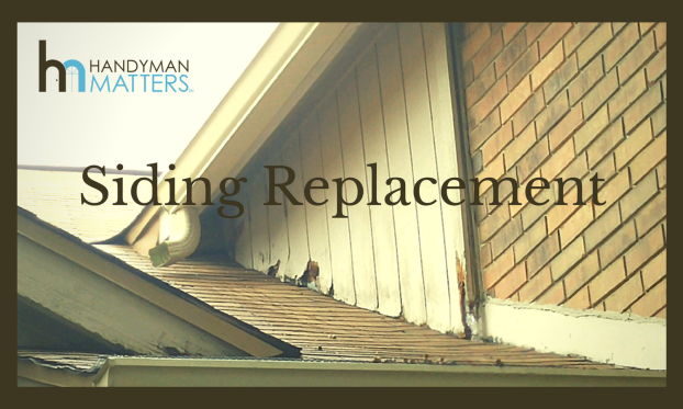 Damaged Siding and Trim Replacements
