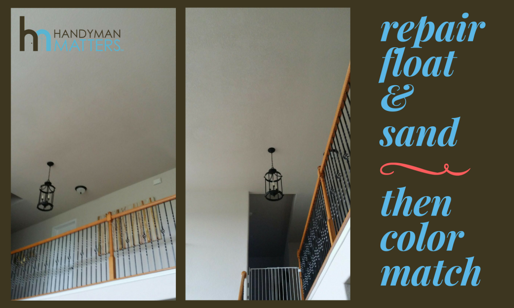 AC Condensation Line Drywall Damage