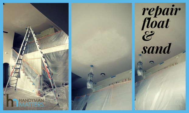 AC Condensation Line Drywall Damage Repair