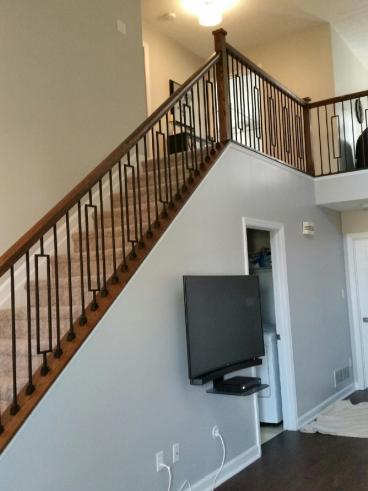 After photo of Handrail installation in Bethel Park, PA