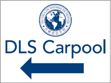 denver language school directional signage carpool
