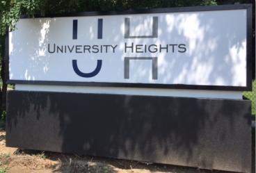 vivage univ heights outdoor signage