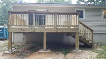 Deck - Hopewell VA - AFTER