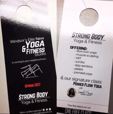 Strong body door hanger