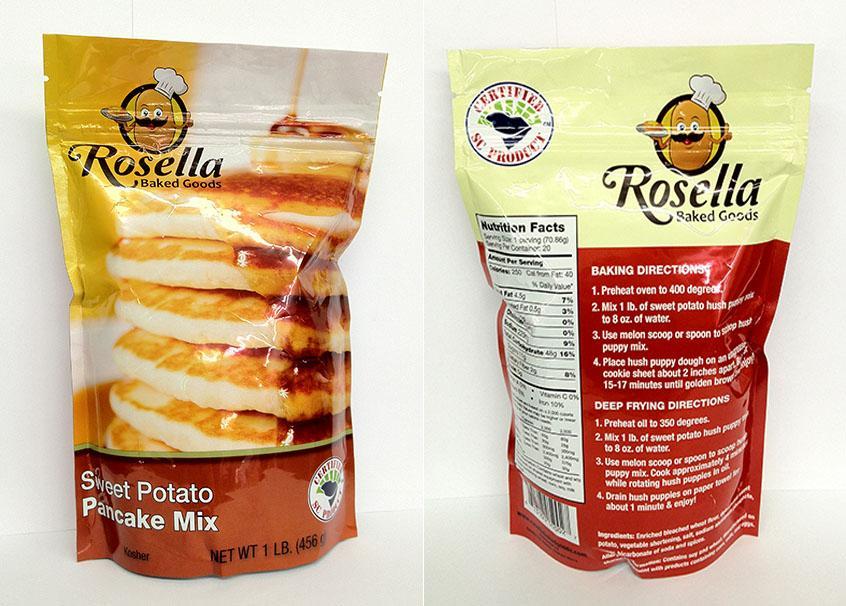 Rosella Pancakes