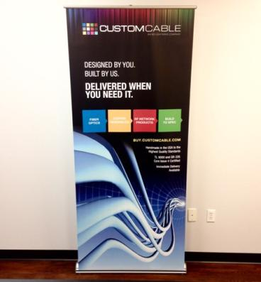 Custom Cable Banner