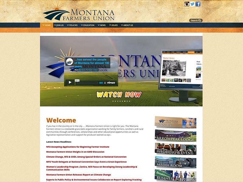 Montana Farmers Union Website