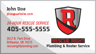 Rescue Right Business Card