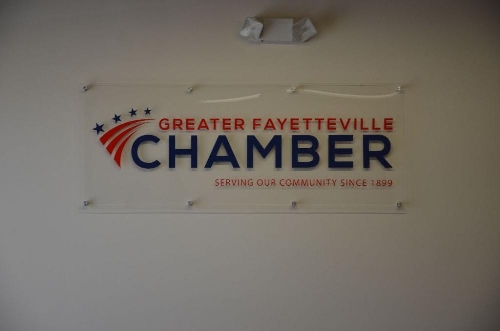 Chamber interior sign