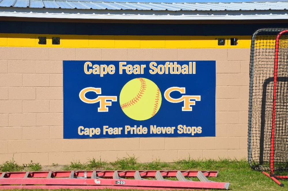 Cape Fear Softball Banner