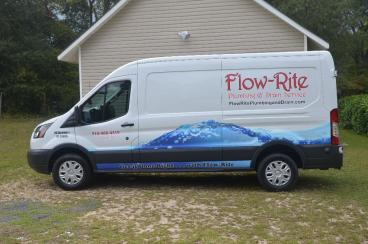 Flow-rite Vehicle Graphic
