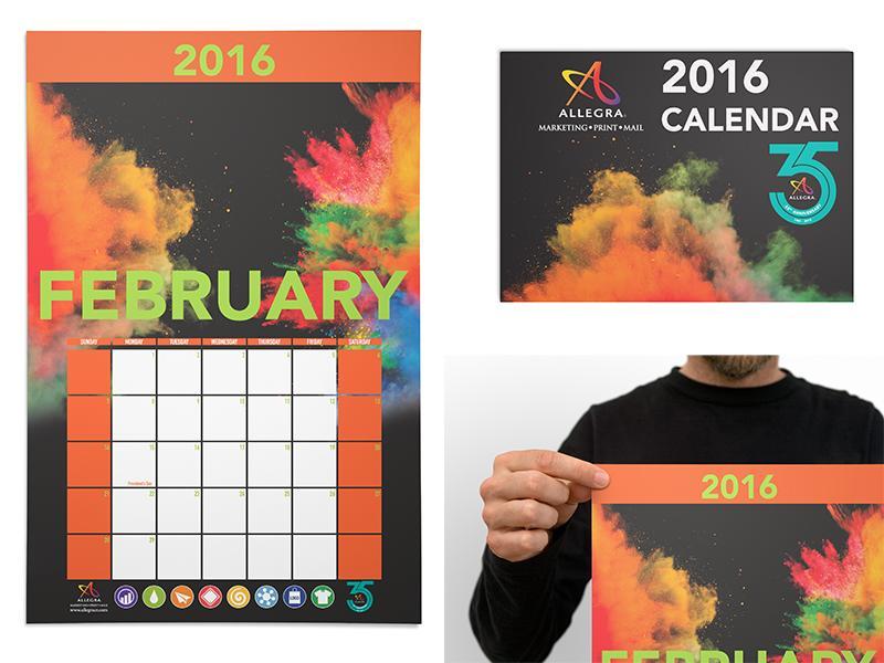 Allegra 2016 Calendar