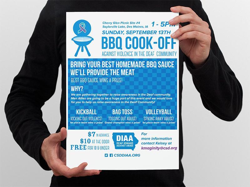 DIAA BBQ Poster