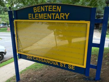 Exterior Refurbished Sign
