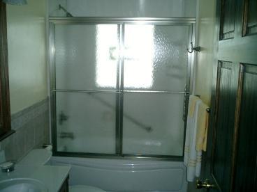 Shower door installation in Monongahela, PA