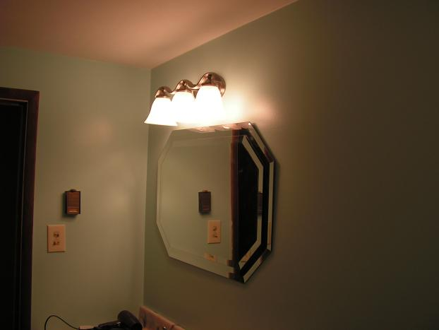Light fixture installed in Bethel Park, PA