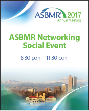 Event graphic for ASBMR printed by www.speedprodenver.net
