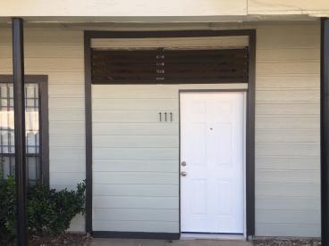 Entry door updated