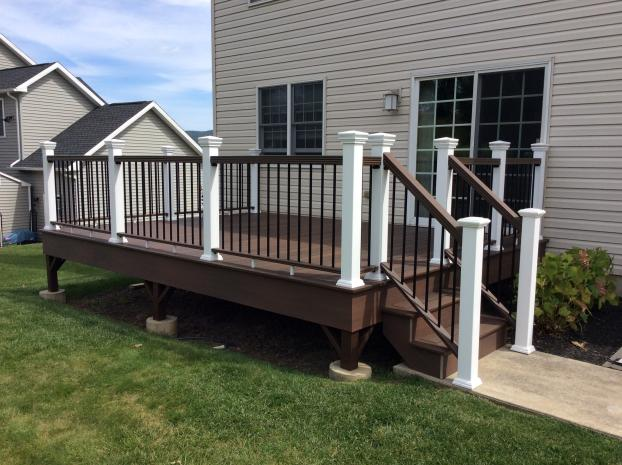 After Photo of Rehabbed Deck in Hanover Twp