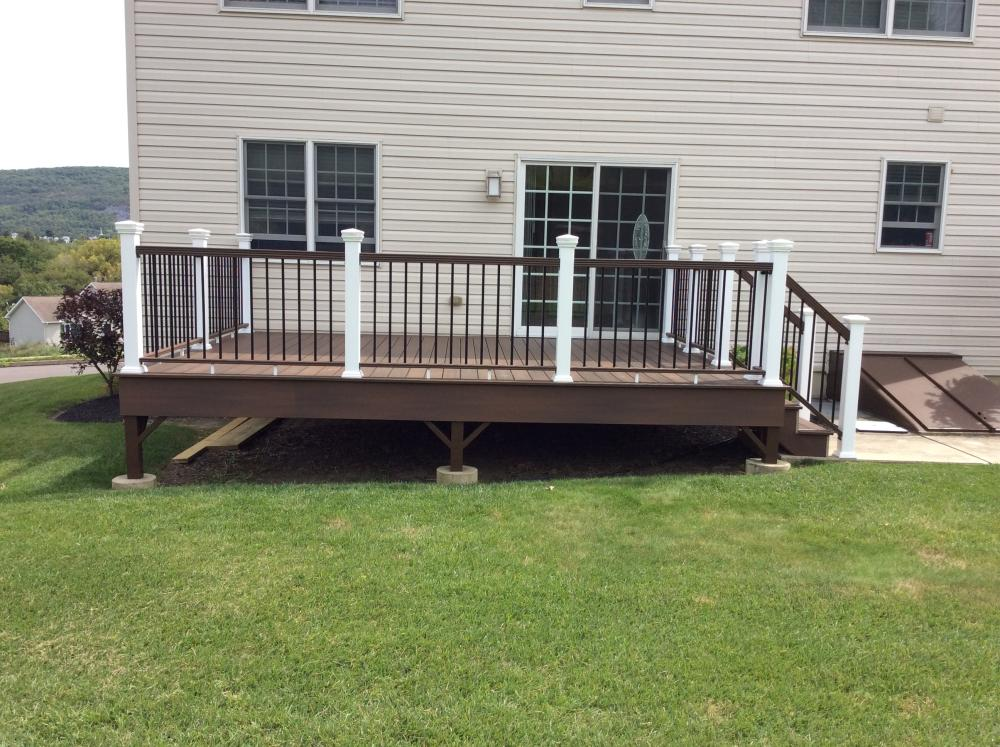 After Photo of Repaired Deck in Hanover Twp