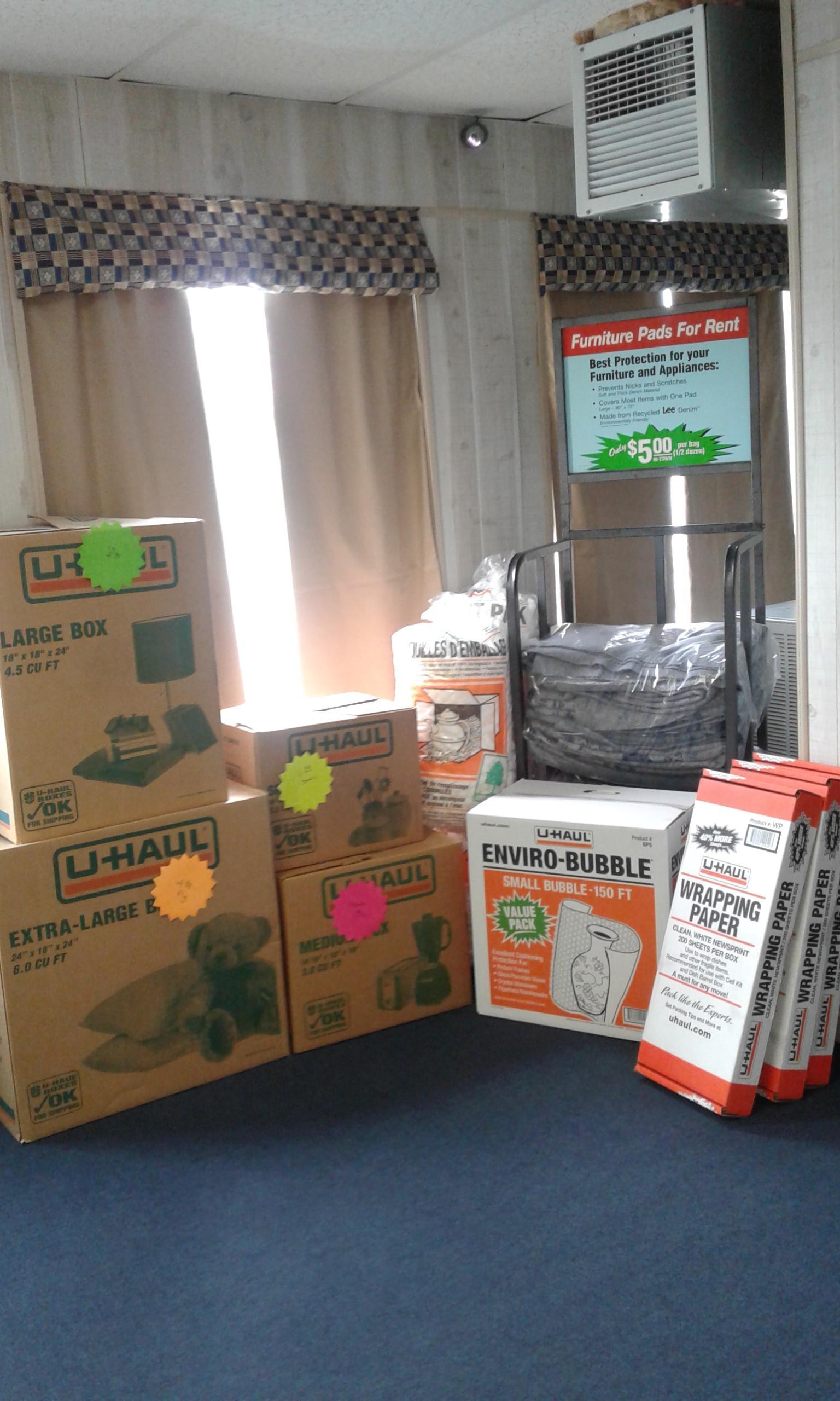 U-Haul Moving Supplies