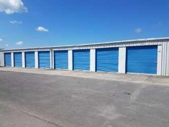 Dogwood Storage Units by the office