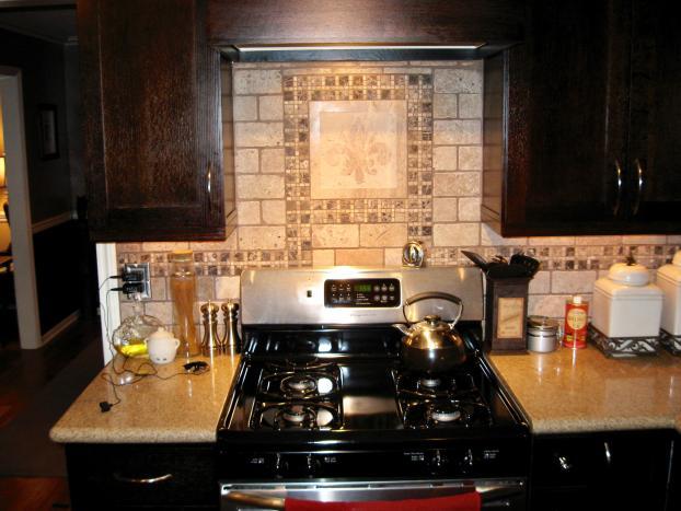 Kingwood Kitchen Remodel Tile Backsplash Detail