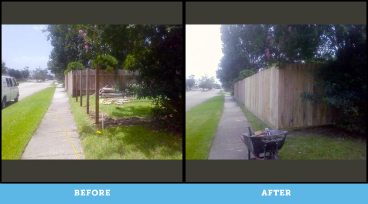 Atascocita Fence Project