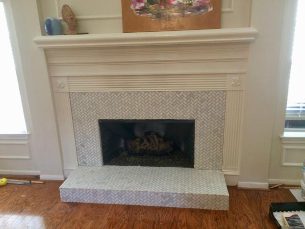 Kingwood Fireplace Remodel