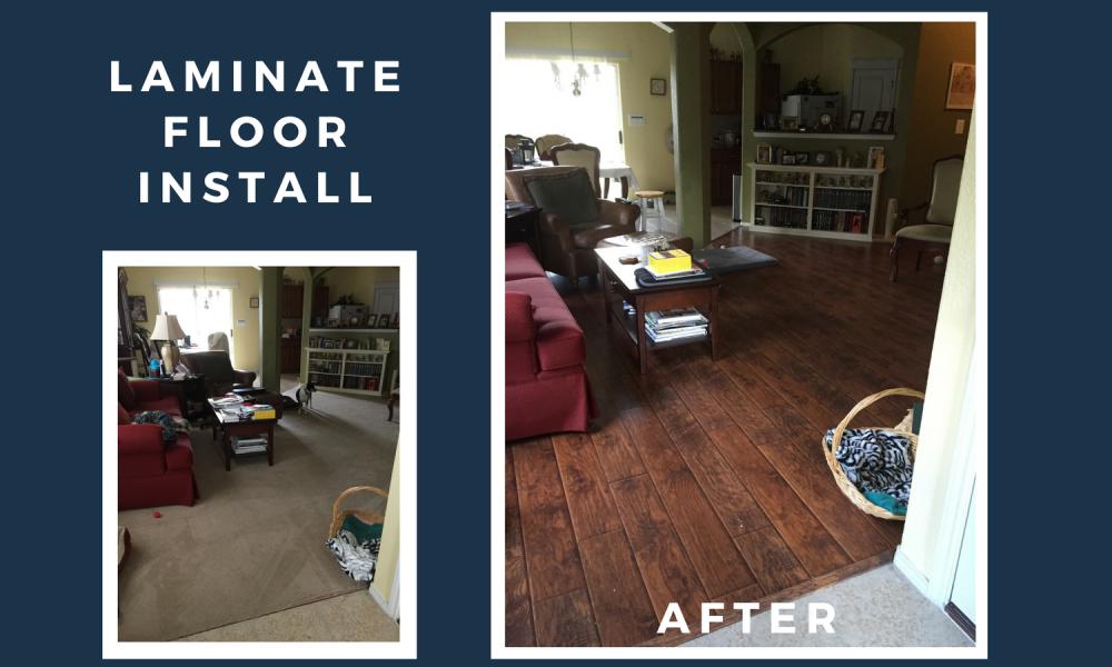 Laminate Floor Installation