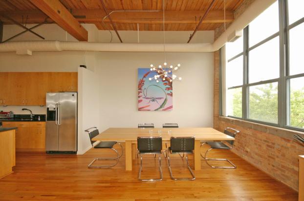 Dining Room Laminate Flooring in Chicago