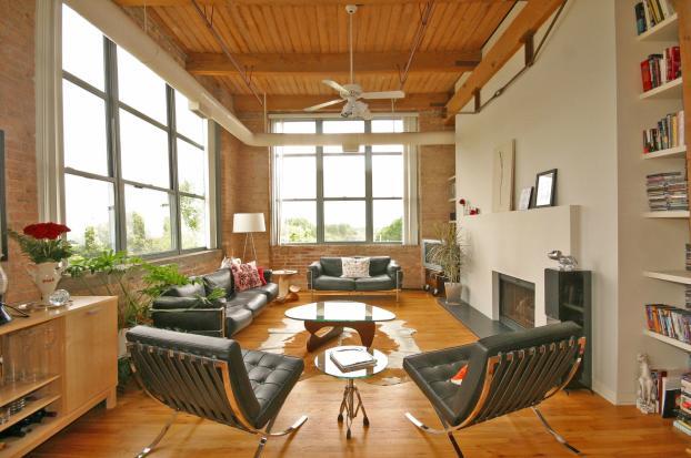 Living Room Remodel in Chicago