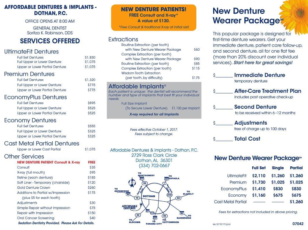 dothan al denture care center dentist 36301 affordable dentures implants. Black Bedroom Furniture Sets. Home Design Ideas