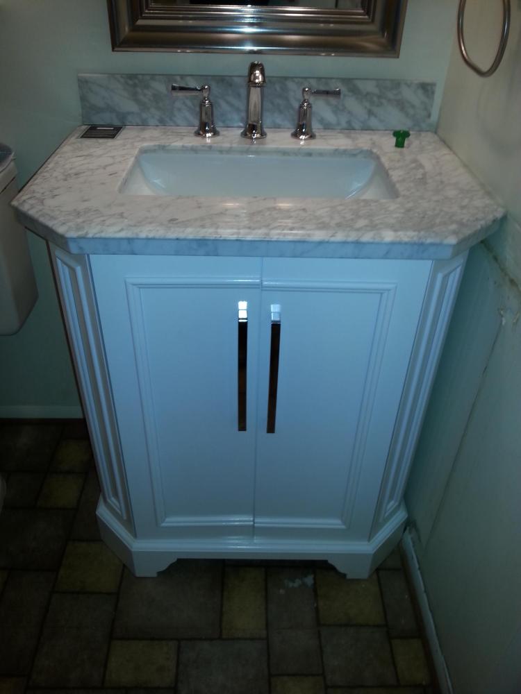 Bathroom Vanity Installation-Frederick, Maryland