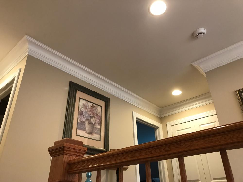 Dentil Molding Installation in Dallas