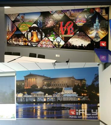 iFLY - KOP Wall Murals
