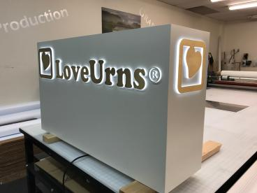 Illuminated Logo Display
