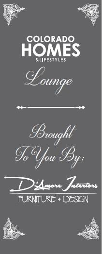 Colorado Homes Lounge signage printed by www.speedprodenver.net