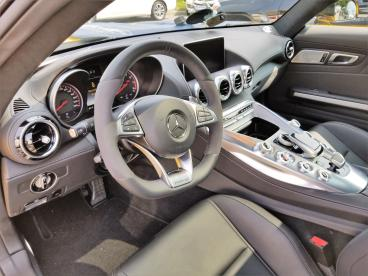 This 2016 Mercedes Benz GTs had a rock chip. Thumbnail